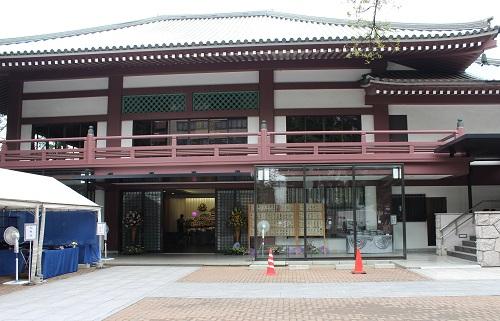 祥雲寺会館 外観