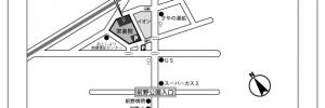 常楽院ホールの地図 アクセス