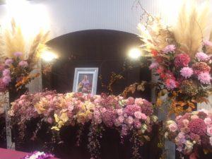 日比谷花壇祭壇
