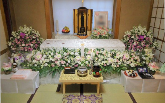 中野区の自宅葬
