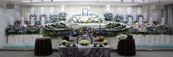 戸田葬祭場3階式場