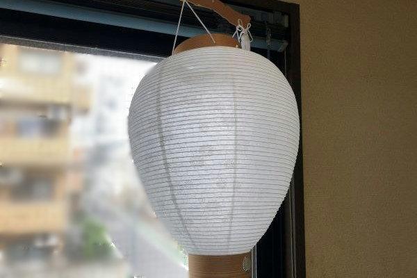 新盆 白提灯